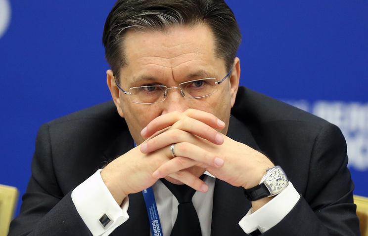 Первый заместитель министра экономического развития Алексей Лихачев