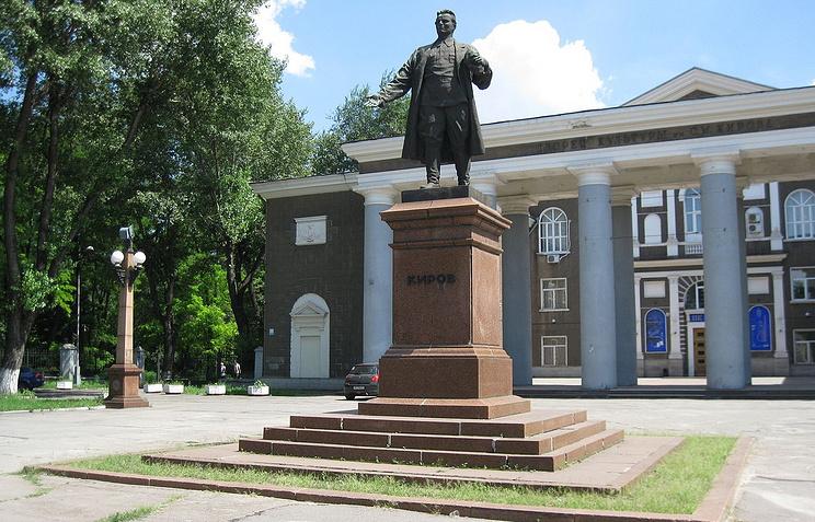 Памятник Сергею Кирову в Запорожье
