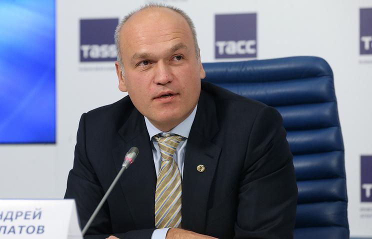 Основатель фонда Art Russe, глава Российской шахматной федерации Андрей Филатов