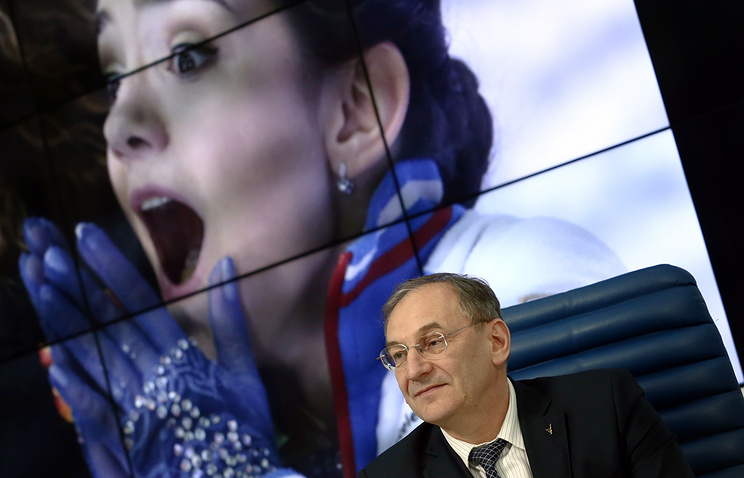 Генеральный директор Федерации фигурного катания на коньках России Александр Коган