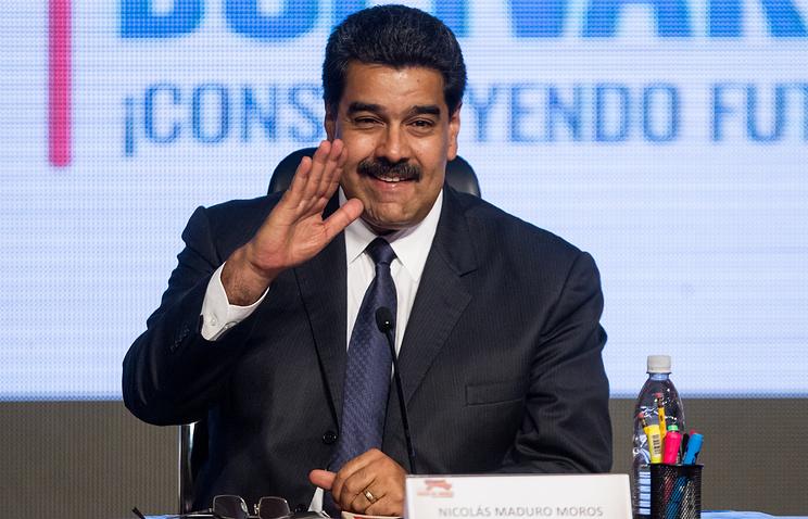 Президент Венесуэлы Николас Маудро