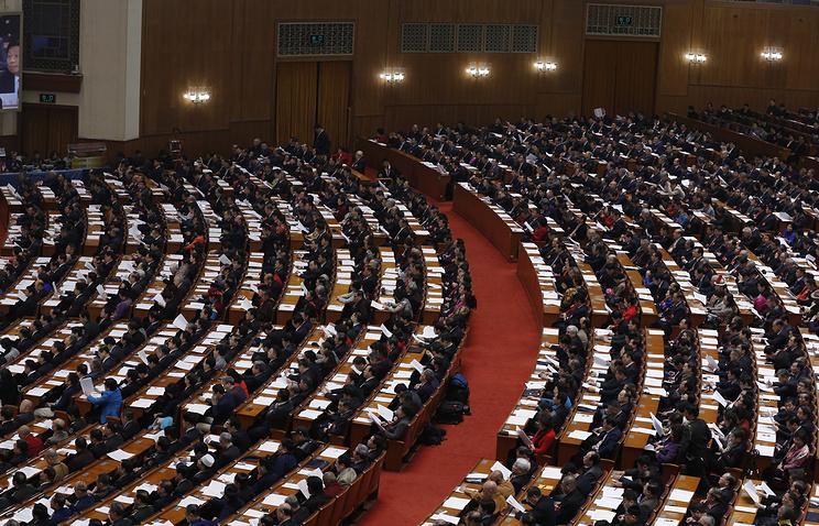 Открытие четвертой сессии Всекитайского собрания народных представителей (ВСНП) 12-го созыва