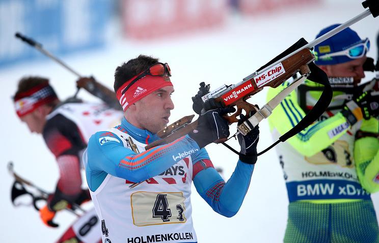 Евгений Гараничев (на первом плане)