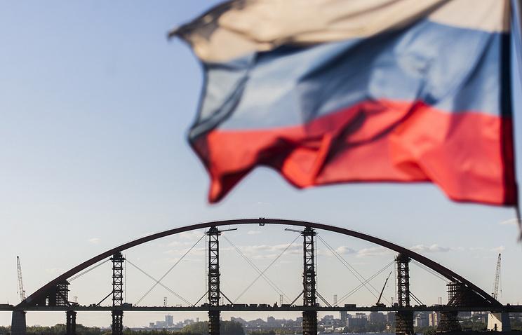 Бугринский мост через реку Обь, Новорсибирск
