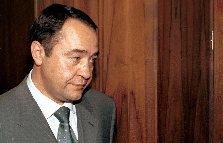Бывший министр печати России Михаил Лесин