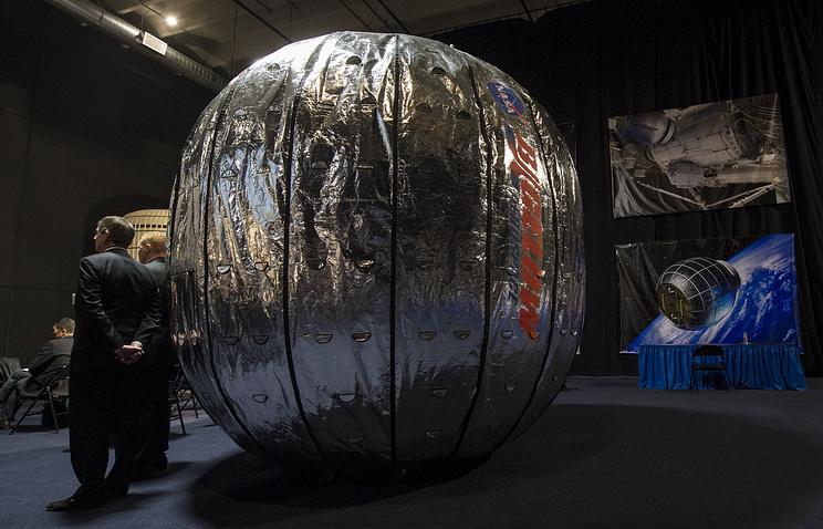 Надувной коммерческий модуль BEAM компании Bigelow Aerospace