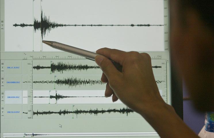 ВТуве зарегистрировано землетрясение магнитудой 4,4 баллов