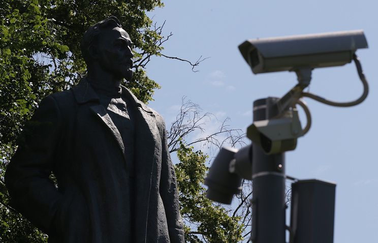 Вweb-сети интернет выложили список уличных видеокамер столицы