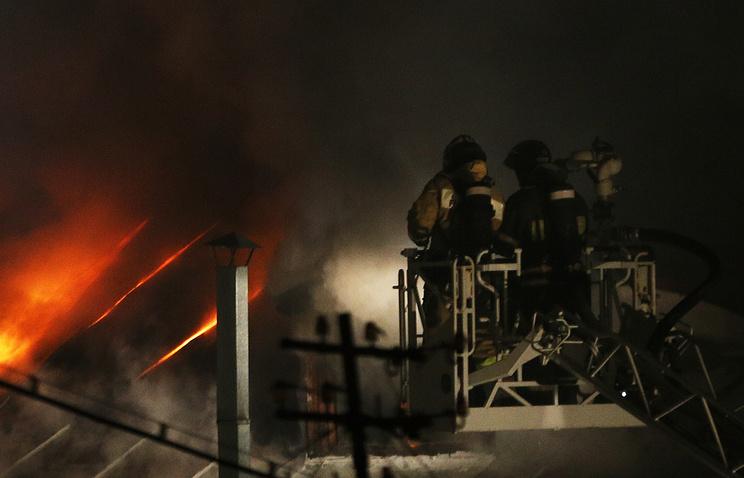 Пожарная служба. Архив