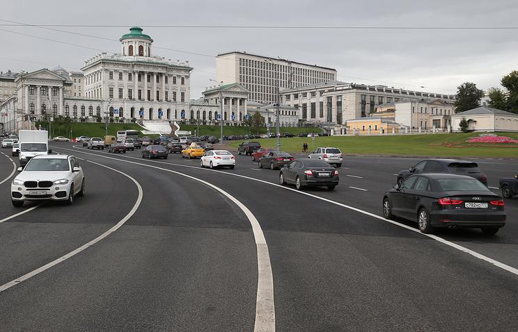 Вид на Боровицкую площадь, где будет установлен памятник князю Владимиру