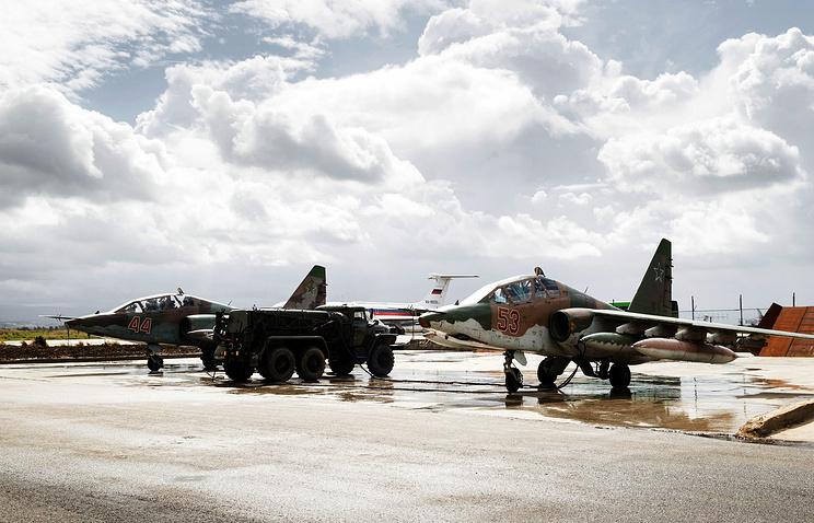 ВСирии разбился военный самолет