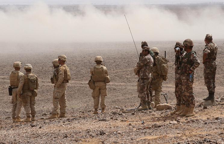 МИД Сирии считает опасным вторжением отправку солдат США всирийский регион Румейлан