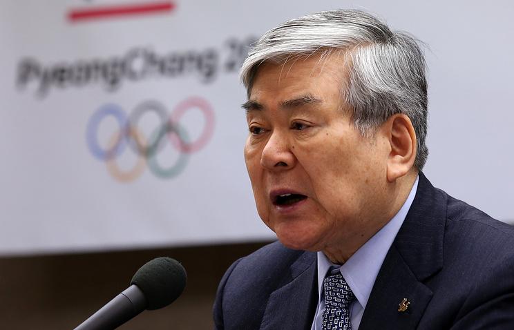 Президент оргкомитета'Пхенчхан-2018 Чо Янг Хо