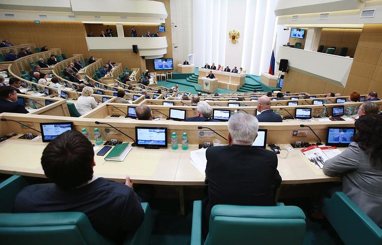 Совет федерации одобрил законодательный проект оновостных агрегаторах