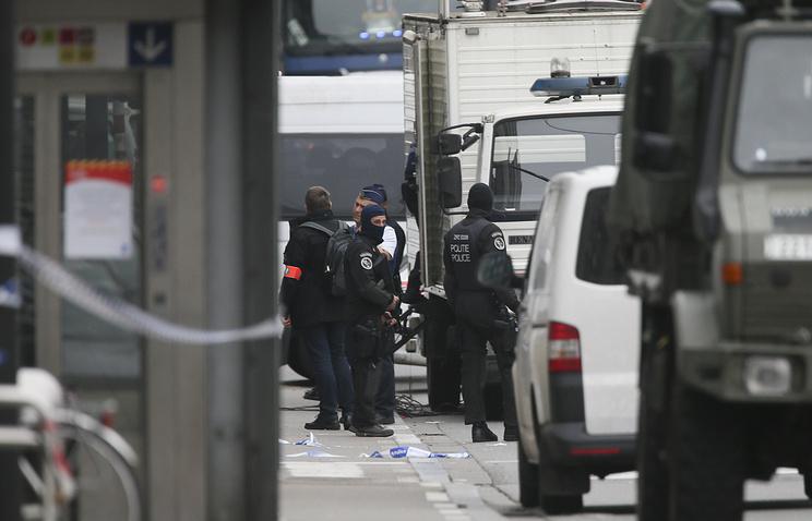 Саперы необнаружили взрывчатых веществ вбрюссельском коммерческом центре
