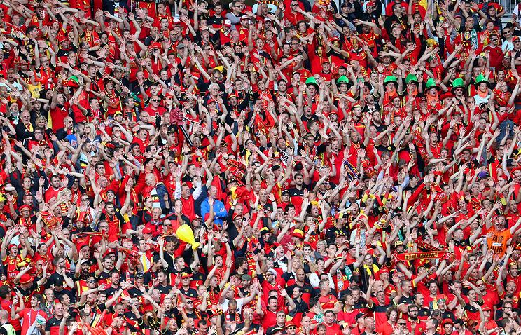 УЕФА оштрафовал бельгийскую ассоциацию на эвро 5 тыс. заповедение фанатов