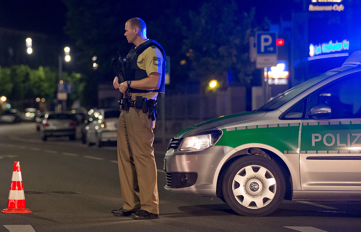 Взрыв в баварском Ансбахе
