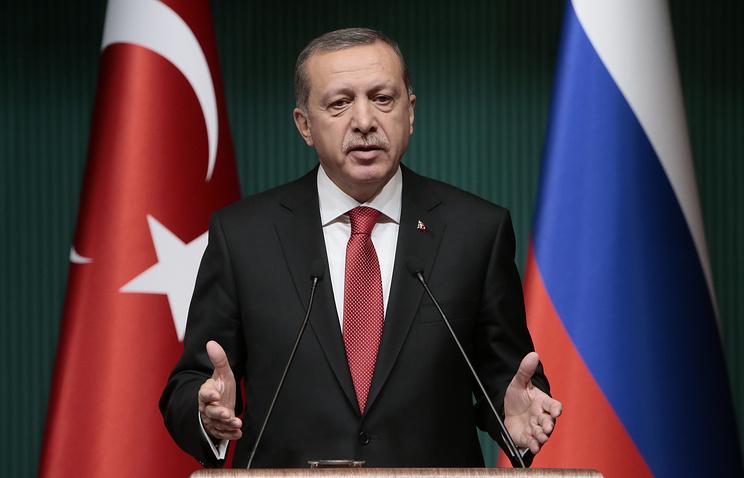 Эрдоган будет говорить сПутиным обэкономике икризисе вдвусторонних отношениях