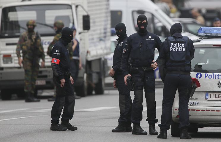 Милиция Льежа задержала человека смачете