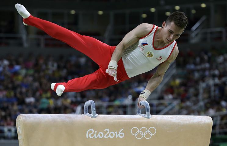 Русские гимнасты вышли вфинал наОИ