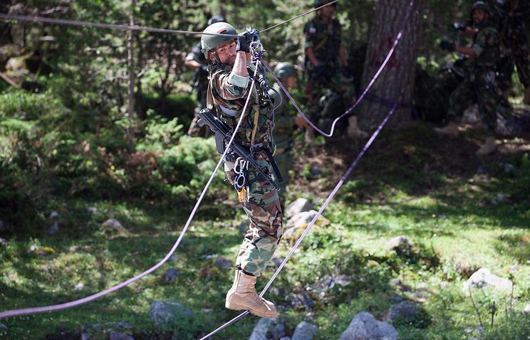 Военные Российской Федерации, Казахстана, Китая иИрана замкнули «Эльбрусское кольцо»