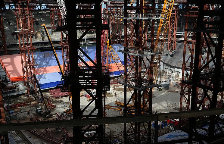 Стадион Зенита наКрестовском острове достроит компания «Метрострой»