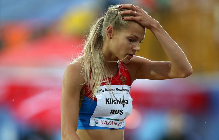 Русская легкоатлетка Клишина отстранена отИгр— IAAF