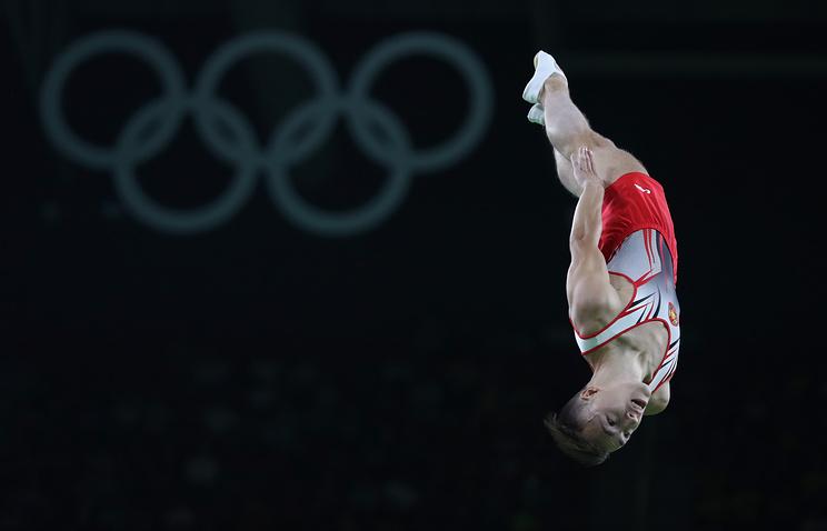 Белорус Владислав Гончаров завоевал золото ОИ-2016 впрыжках набатуте