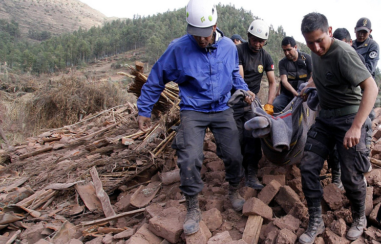 Девять человек погибли из-за землетрясения вПеру
