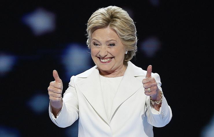 Обама навечеринке собрал около $600 тыс. накампанию Клинтон