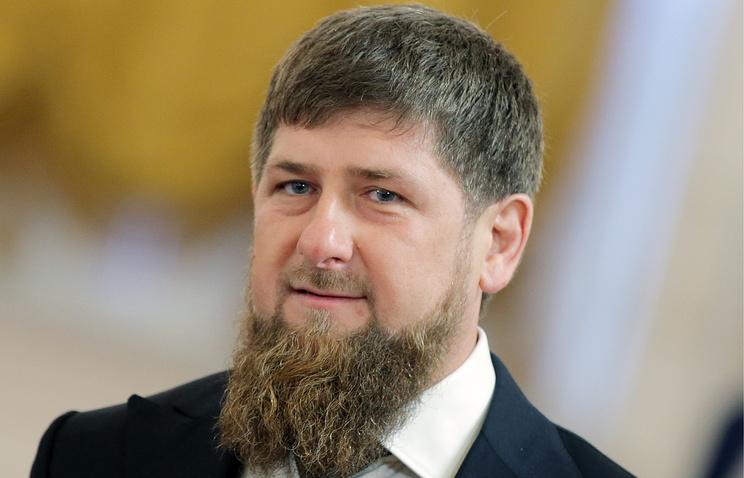 Исполняющий обязанности главы Чечни Рамзан Кадыров