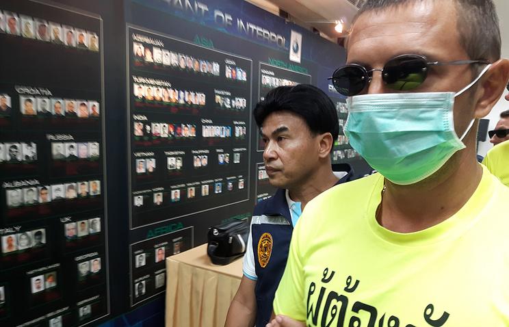 Таиланд согласился депортировать гражданинаРФ Смольникова, находящегося врозыске