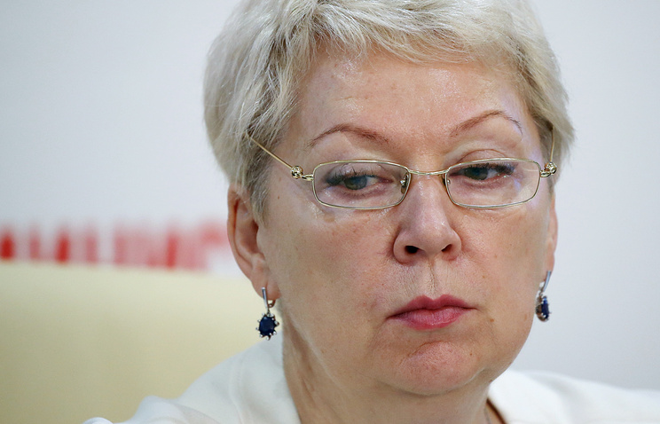 Новый министр образования Российской Федерации Ольга Васильева проведет родительское собрание впрямом эфире