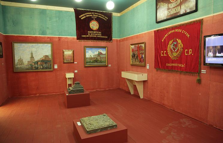 Экпозиция выставки Азбука музея:от А до Я