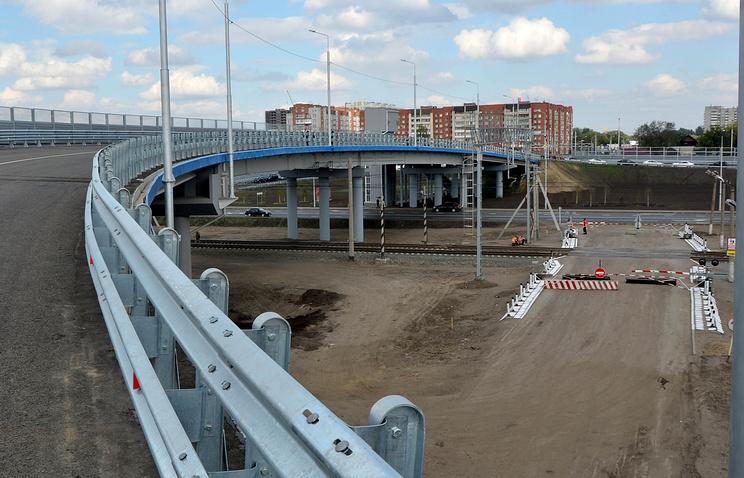 ВОмске торжественно открыли путепровод стоимостью 729,3 млн руб.