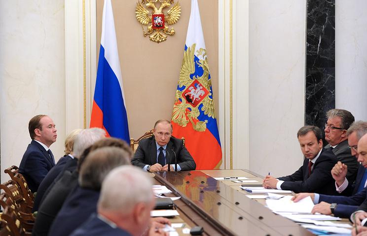 Путин: план поборьбе сАЧС должен быть утвержден кконцу месяца