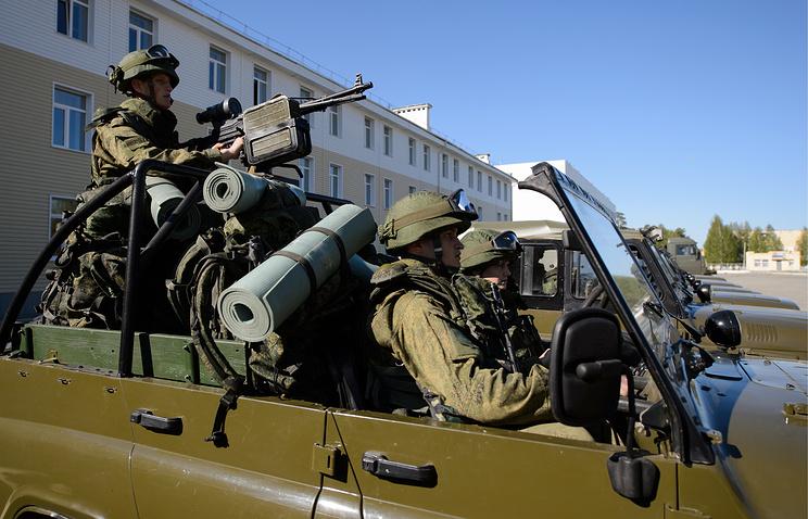 Русские военнослужащие прибыли вПакистан научения
