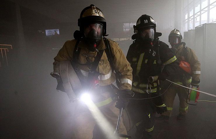 В столице России один человек пострадал впожаре вобщежитии