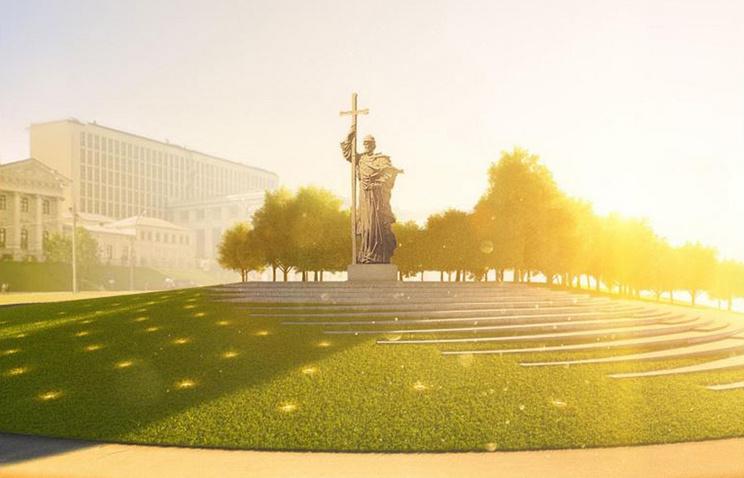 Монумент правителю Владимиру в столицеРФ торжественно откроют 4ноября