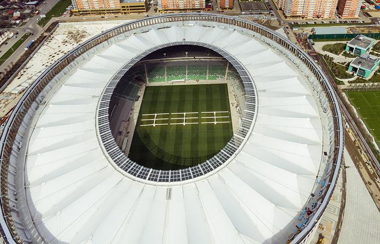 Стадион «Краснодара» получил отРФС высшую категорию
