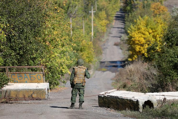 Боевики произвели обстрел сразу после отвода войск
