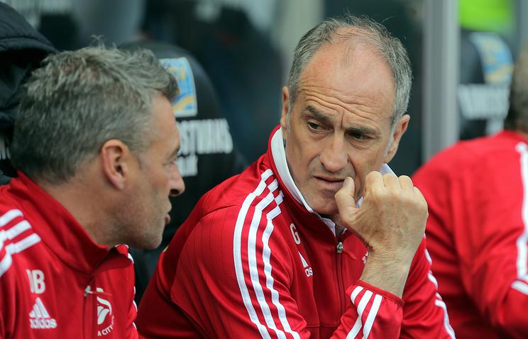 «Суонси» отправил вотставку тренера Гвидолина вдень рождения