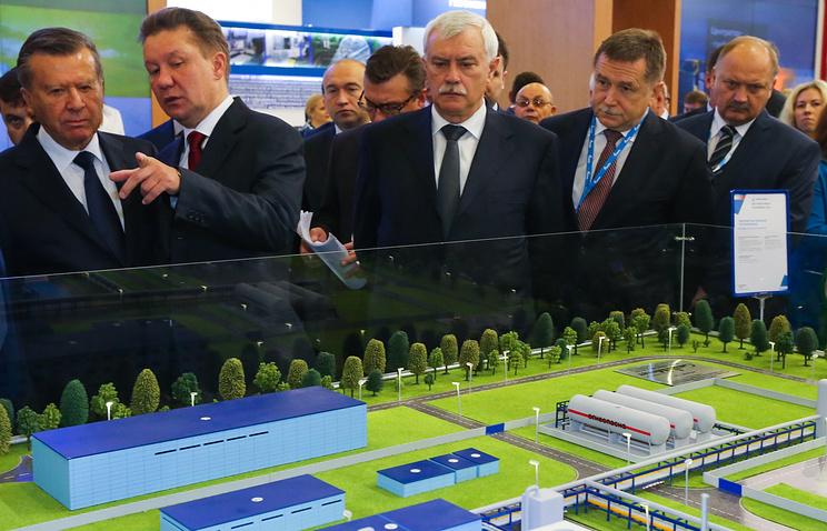 ВПетербурге стартовалVI Международный газовый форум