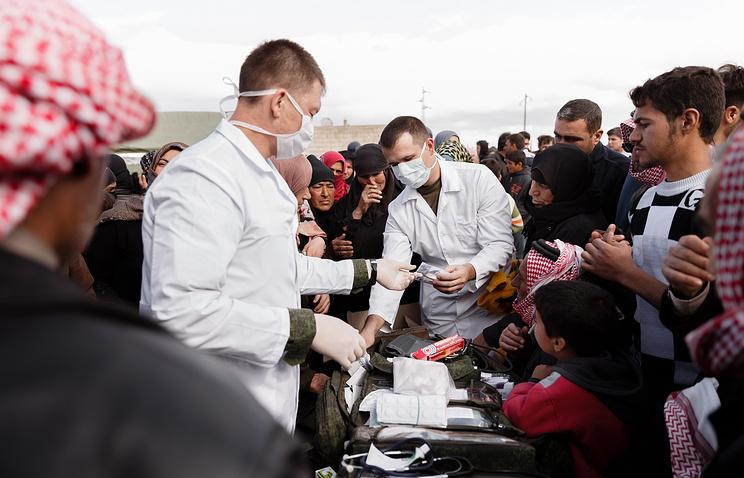 Сирийский госпиталь получил от РФ 3 тонны медикаментов