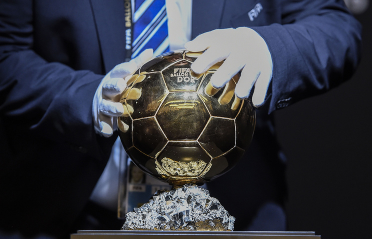 France Football опубликует список претендентов на«Золотой мяч» 25октября