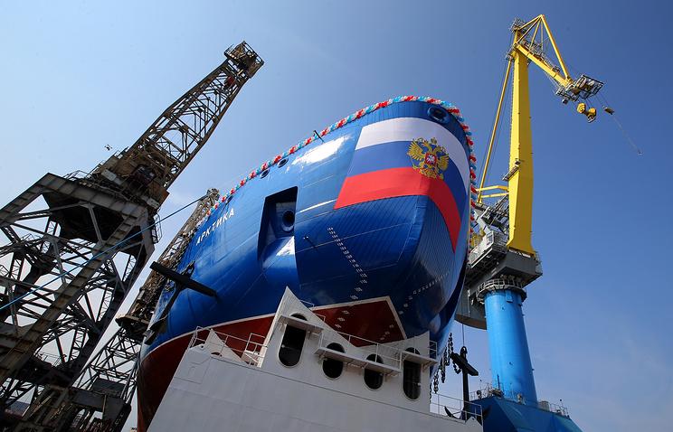 Российская Федерация построит сверхмощный ледокол для освоения Арктики— Рогозин