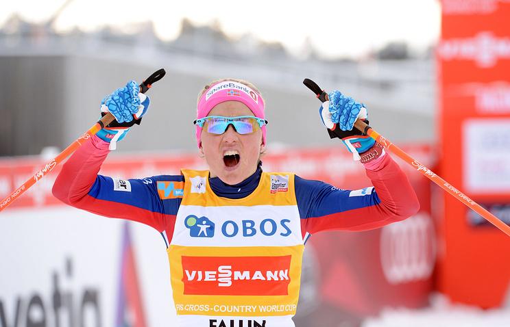 Олимпийская чемпионка полыжным гонкам Йохауг провалила допинг-тест
