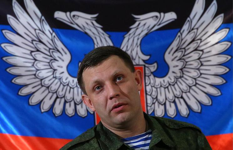 Захарченко: ополченцы ДНР подбили украинский военный вертолет