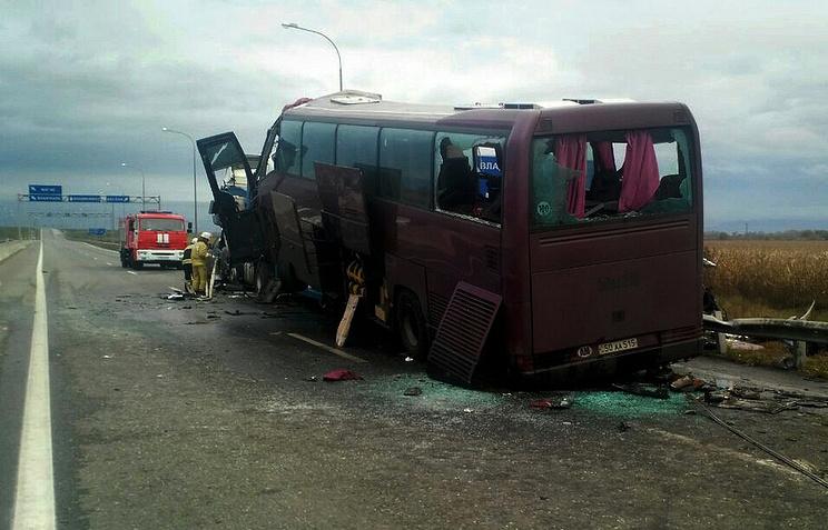 Стали известны детали ДТП савтобусом под Бесланом