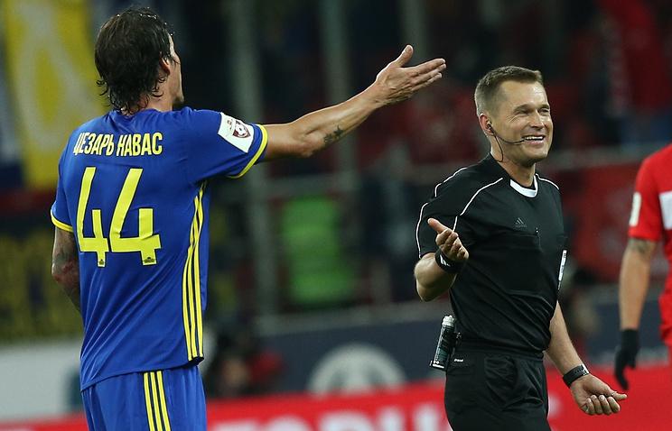 Тренер «Ростова» назвал безобразием судейство вматче со«Спартаком»